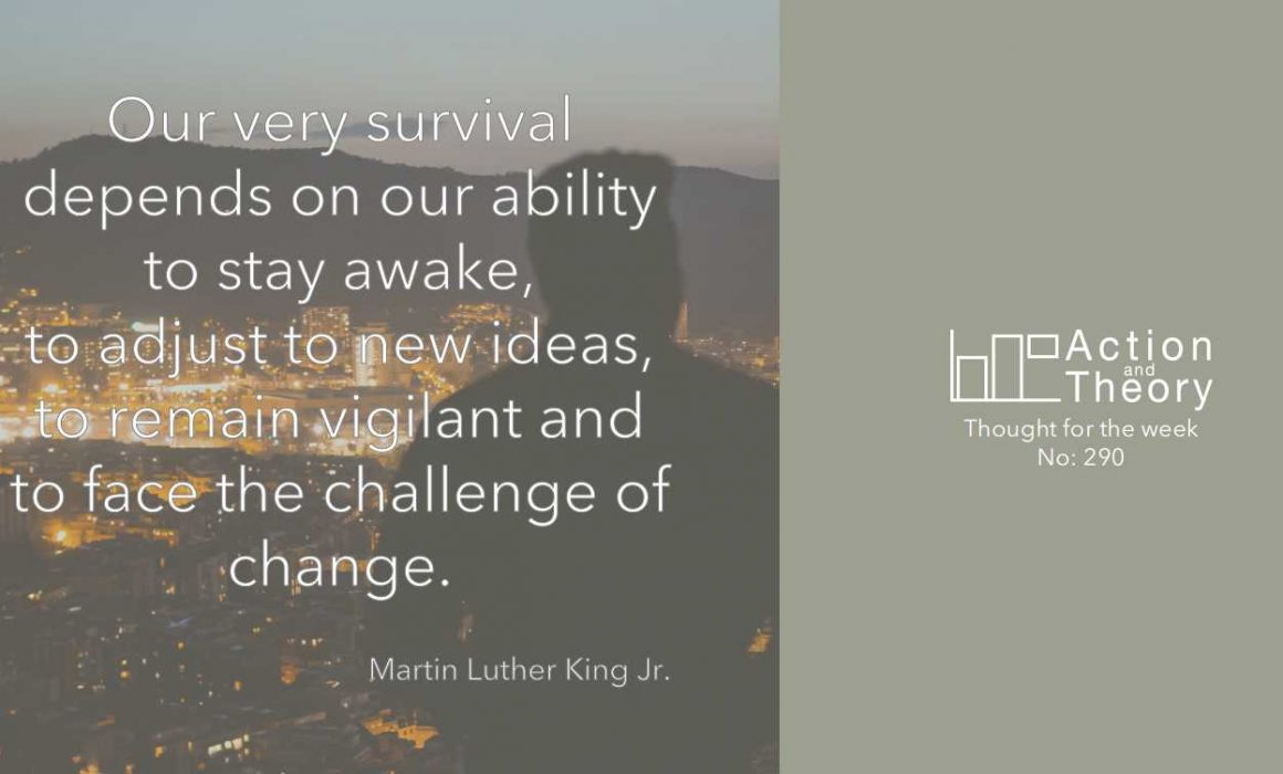 Martin Luther King change quote