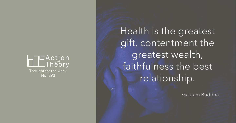 A Gautam Buddha quote