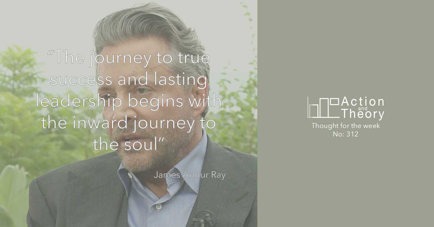 James Arthur Ray Leadership quote
