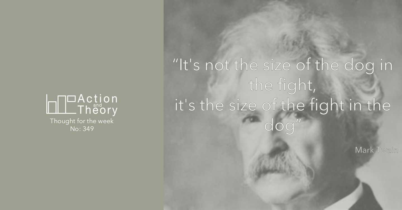Mark Twain quote courage