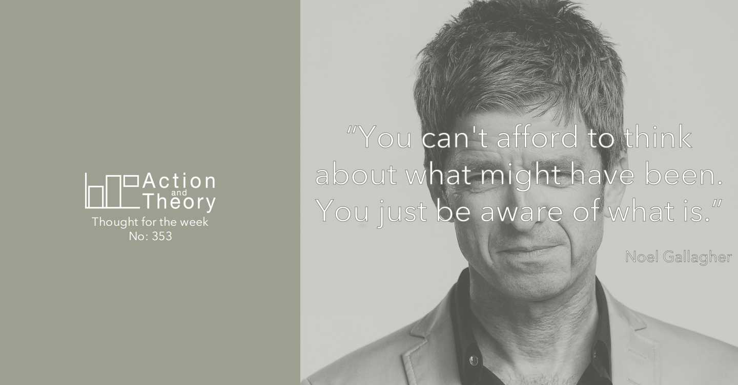 Noel Gallagher on dealing with what is